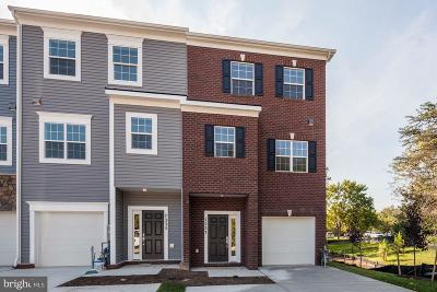 Glen Burnie Townhouse For Sale: 7725 Cohansey Trail Drive