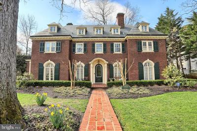 Guilford, Guilford/Jhu Single Family Home For Sale: 4409 Greenway