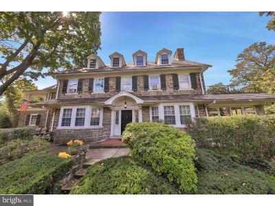 Mt Airy (East), Mt Airy (West) Single Family Home For Sale: 56 E Sedgwick Street
