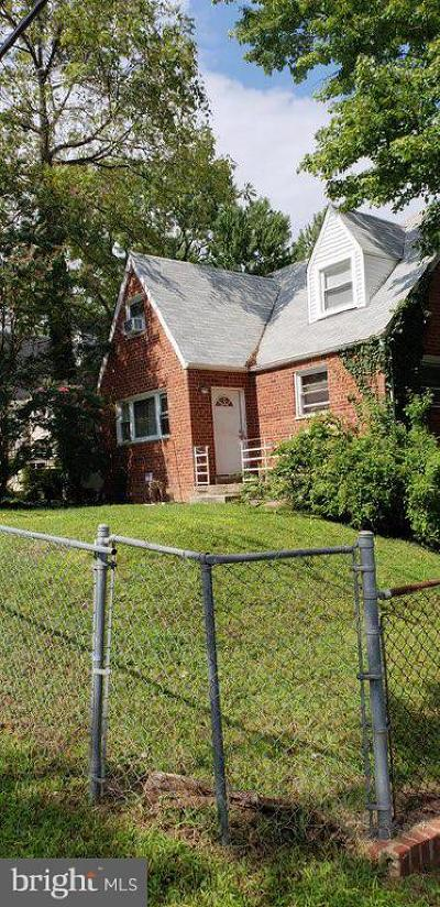 Capitol Heights Single Family Home For Sale: 4936 Gunther Street