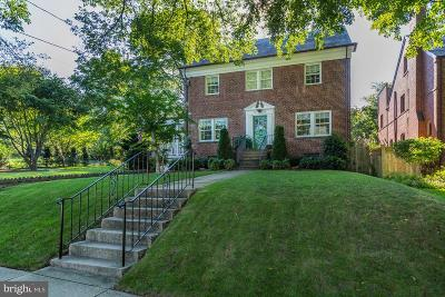 Chevy Chase Single Family Home For Sale: 5801 Nebraska Avenue NW