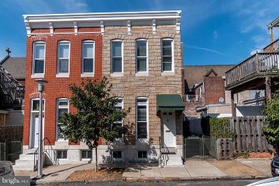Federal Hill Townhouse For Sale: 4 E Gittings Street