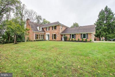 Rockville Single Family Home Active Under Contract: 6100 Wayside Drive