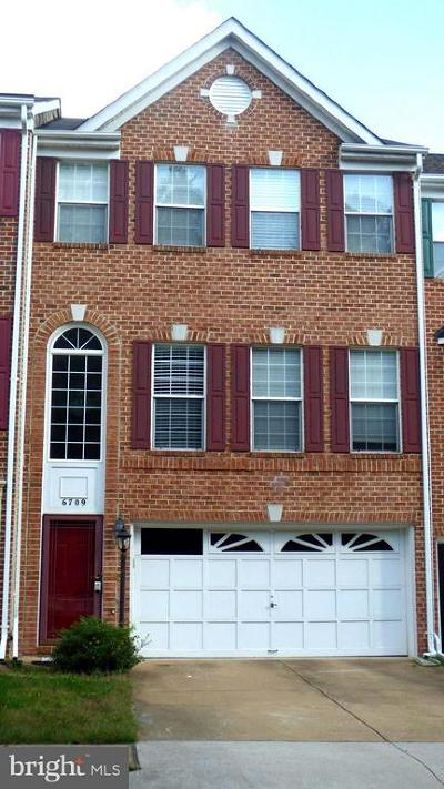 Kingstowne Townhouse For Sale: 6709 Scottswood Street