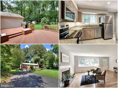Annandale Single Family Home For Sale: 4208 Wakefield Drive