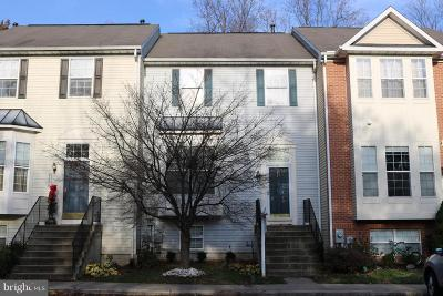 Odenton Townhouse For Sale: 2610 Streamview Drive