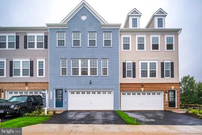 Manassas Townhouse For Sale: 10587 Hinton Way
