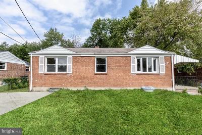 Hyattsville Single Family Home For Sale: 2416 Griffen Street
