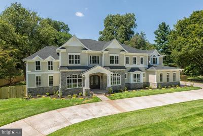 Rockville MD Single Family Home For Sale: $2,790,000
