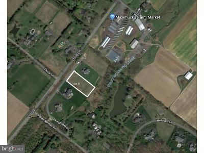 Bucks County Residential Lots & Land For Sale: Lot 4 Kingfisher Lane
