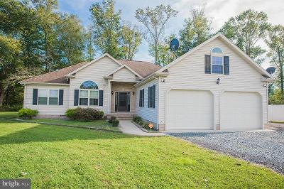 Princess Anne Single Family Home For Sale: 32365 W Post Office Road