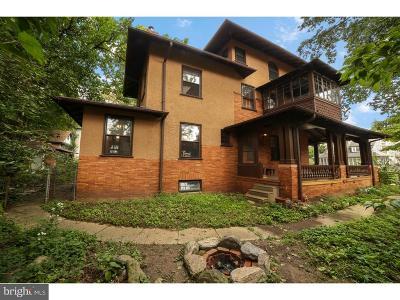 Philadelphia Single Family Home For Sale: 305 W Hortter Street