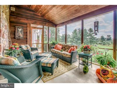 Bucks County Single Family Home For Sale: 3265 Dark Hollow Road