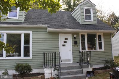 Fredericksburg Single Family Home For Sale: 206 Coakley Street