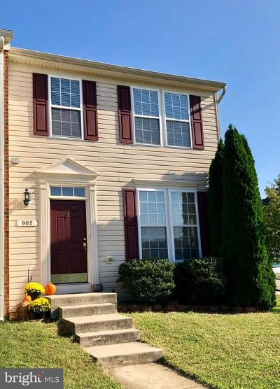 Odenton Townhouse For Sale: 902 Glaze Court