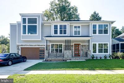 Bethesda Single Family Home For Sale: 5802 Wilmett Road