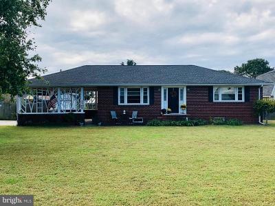 Colonial Beach Single Family Home For Sale: 1395 McKinney Boulevard