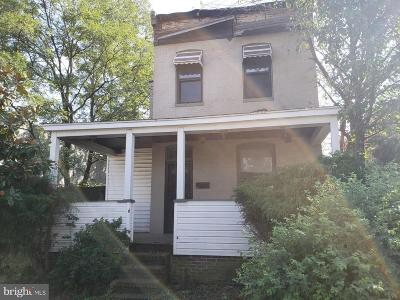 Baltimore City Single Family Home For Sale: 1509 Olmstead Street