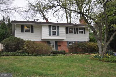 Potomac Single Family Home For Sale: 11824 Kim Place