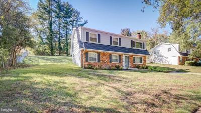 Upper Marlboro Single Family Home For Sale: 17120 Fairway View Lane