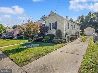 Gloucester City Single Family Home For Sale: 604 Sherwood Avenue