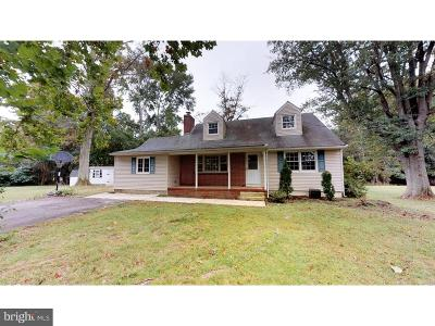 Robbinsville Single Family Home For Sale: 338 Gordon Road