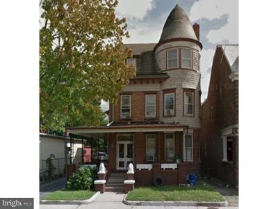 Trenton NJ Multi Family Home For Sale: $299,000