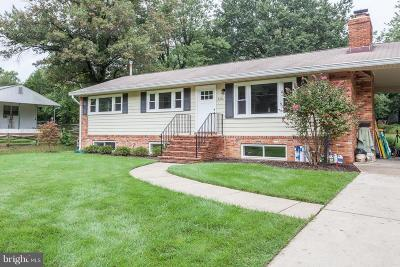 Annandale, Falls Church Single Family Home For Sale: 4207 Downing Street
