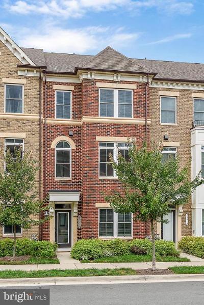 Ashburn Townhouse For Sale: 20617 Duxbury Terrace