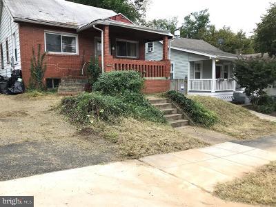 Brookland Single Family Home For Sale: 1435 Jackson Street NE