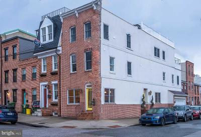 Canton, Canton Company, Canton Cove, Canton East, Canton, Patterson Park, Canton/Brewers Hill, Canton/Lighthouse Landing Townhouse For Sale: 3401 Dillon Street