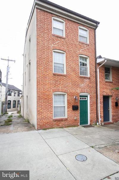 Baltimore City Townhouse For Sale: 2313 Foster Avenue