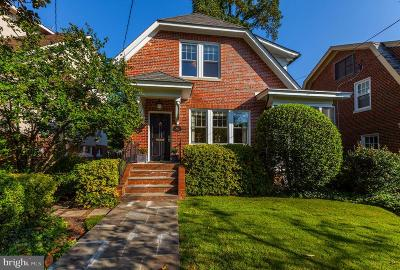 Chevy Chase Single Family Home For Sale: 3611 Quesada Street NW