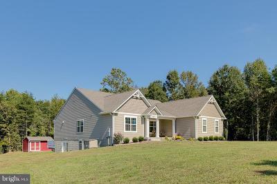 Fredericksburg Single Family Home For Sale: 963 White Oak Road