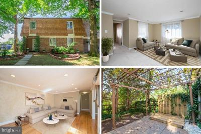 Montgomery Village Townhouse For Sale: 10412 Capehart Court