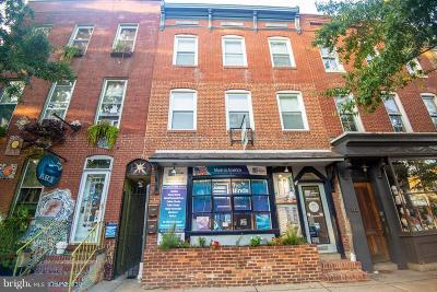 Baltimore Single Family Home For Sale: 1920 Fleet Street