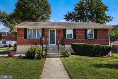 Rockville Single Family Home For Sale: 4818 Oxbow Road