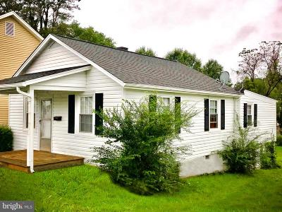 Culpeper Single Family Home For Sale: 1212 S Main Street