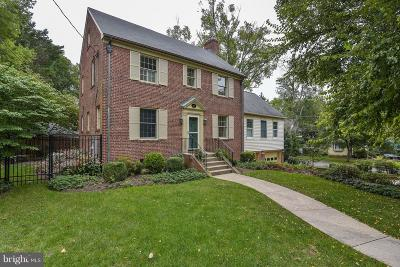 Chevy Chase Single Family Home For Sale: 6401 Offutt Road