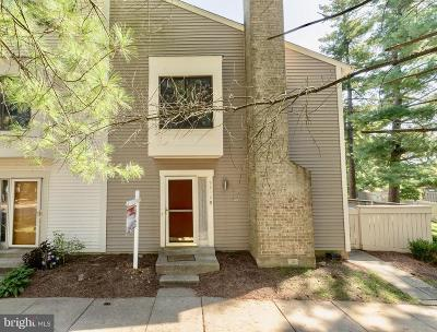 Montgomery County Townhouse Under Contract: 9312 Bathgate Court