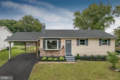 Laurel Single Family Home For Sale: 408 Old Line Avenue