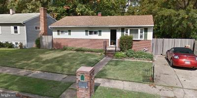 Glen Burnie Single Family Home For Sale: 428 Arbor Drive