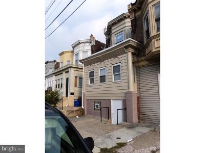 Philadelphia Single Family Home For Sale: 703 W Wingohocking Street