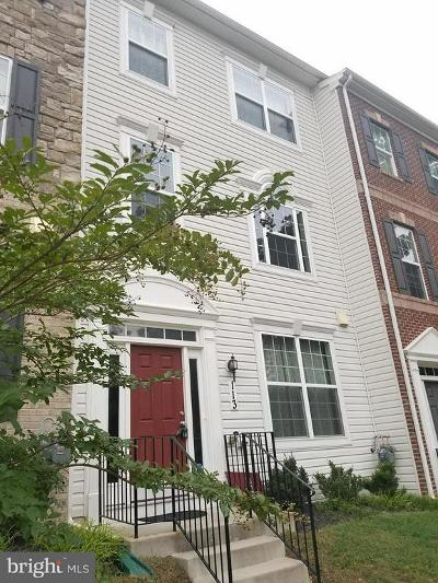 Silver Spring Townhouse For Sale: 113 Tanglewood Manor Drive