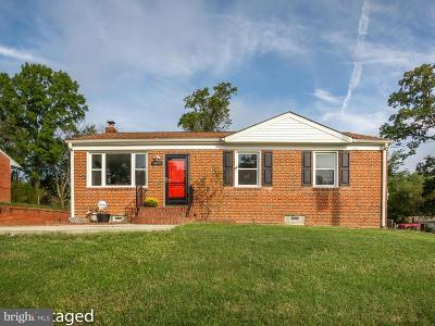 District Heights Single Family Home For Sale: 8108 Dogwood Lane
