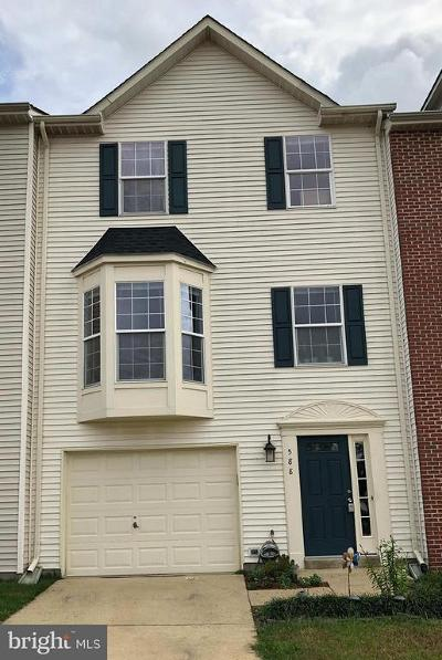 Leesburg Townhouse For Sale: 588 Tuliptree Square NE