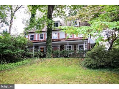 Jenkintown Single Family Home For Sale: 765 Wooded Road