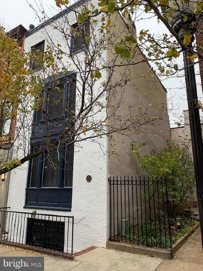 Baltimore Townhouse For Sale: 22 Chase Street W