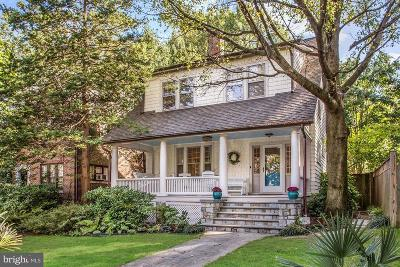 Chevy Chase Single Family Home For Sale: 3822 Livingston Street NW