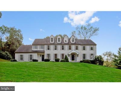 Media Single Family Home For Sale: 1 Pennsford Lane